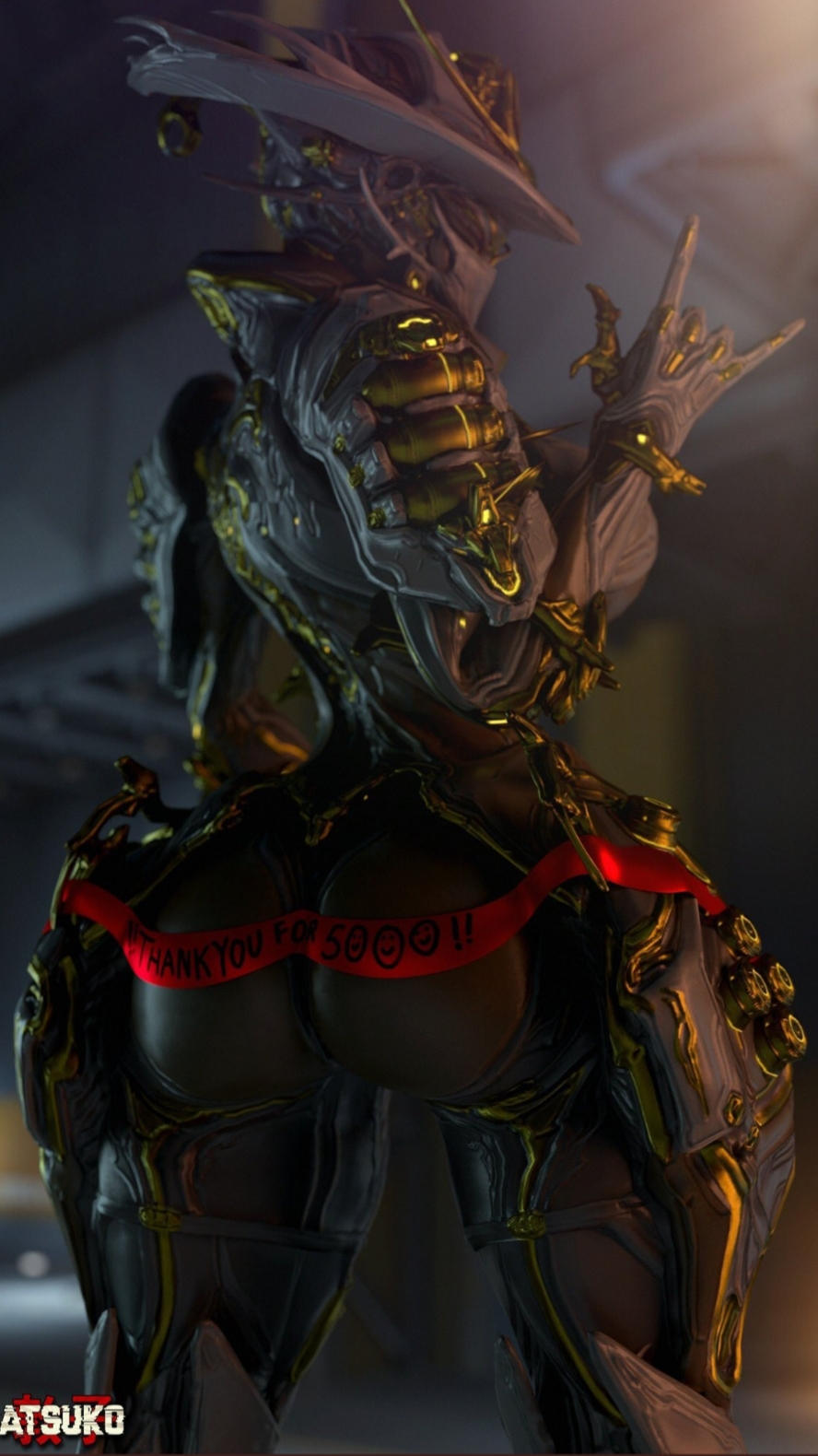 mesa prime after warframe next Female deathclaw x male reader