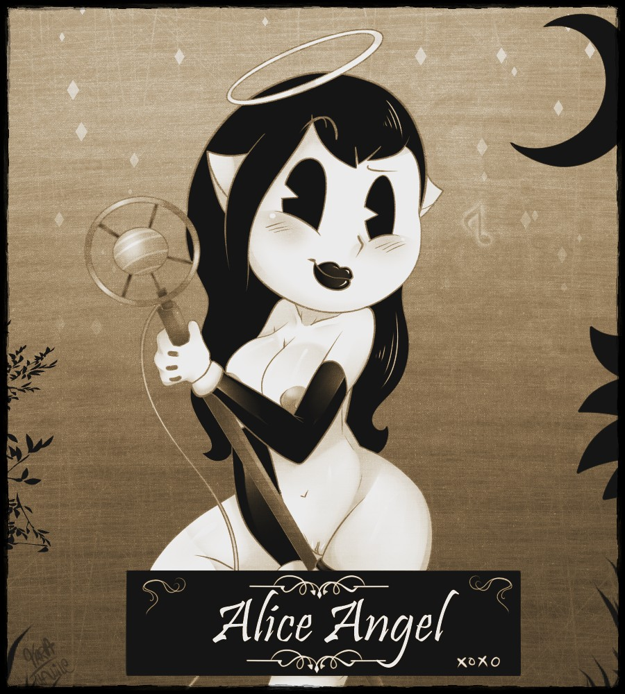 alice bendy angel the hentai ink and machine Starfire teen titans go naked
