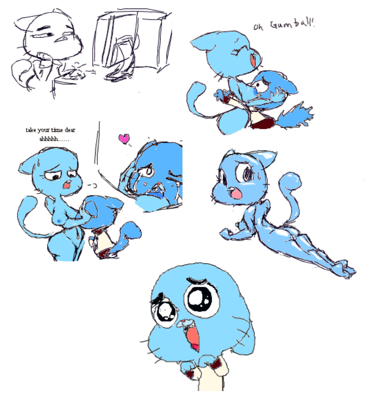 balloon the amazing gumball of world Min min arms