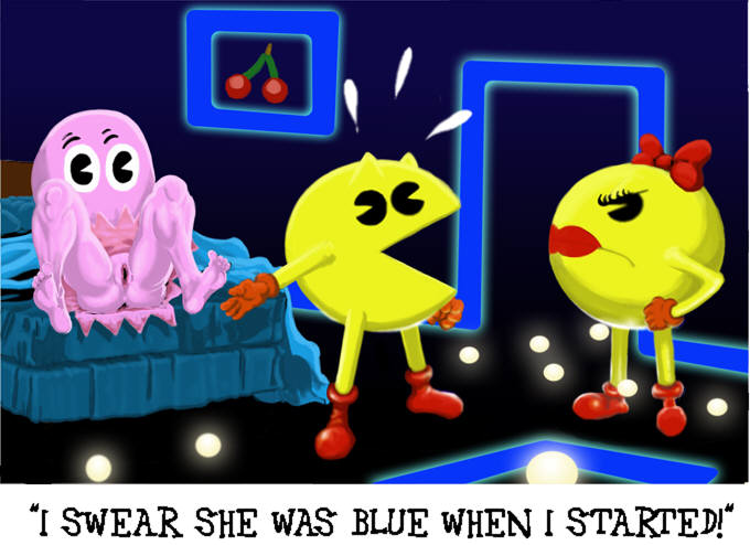 by ghosts minus8 animation pac-man Chivalry of a failed knight nude