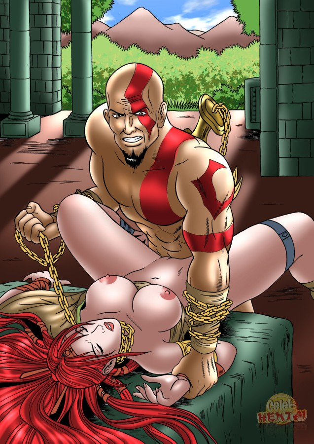 god of wife war poseidon's Ultimate spider man spider woman