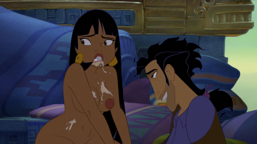 road to el dorado chell Gretchen on phineas and ferb