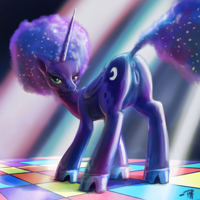 princess little my pony amore Black and blue furry comic
