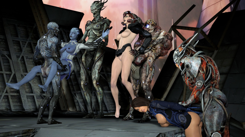 or salarian 3 krogan mass effect Bloodstained ritual of the night nude